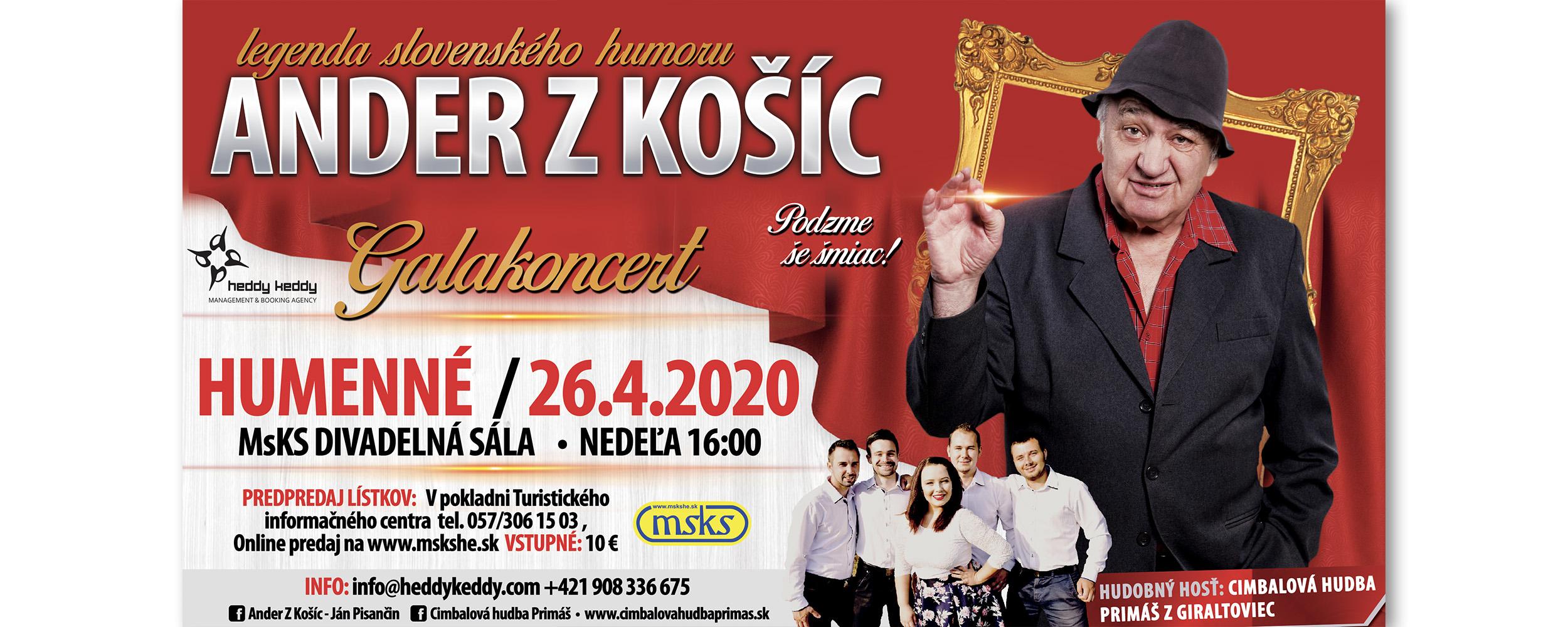 ANDER Z KOšíC