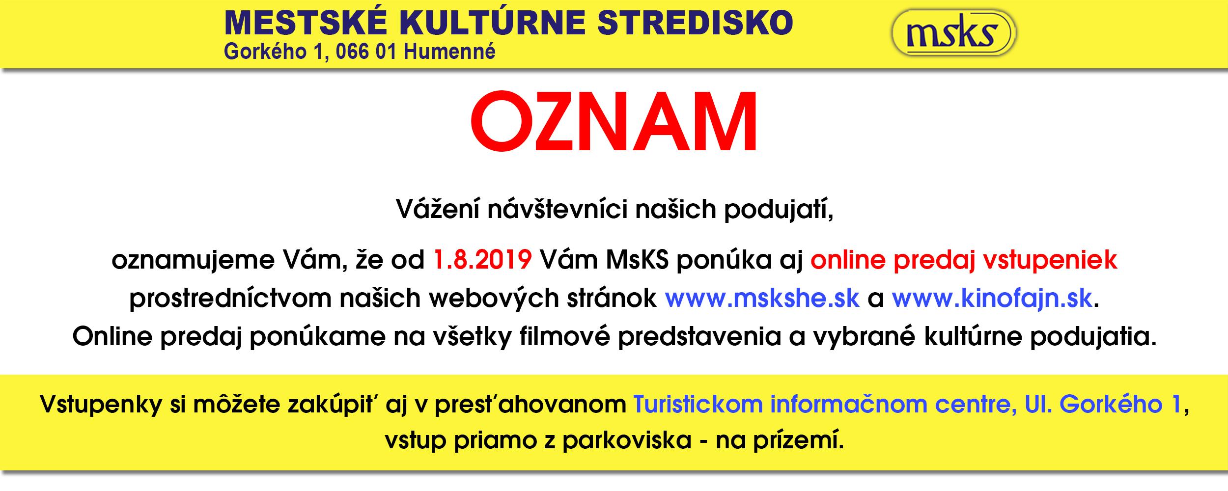 Online Predajj