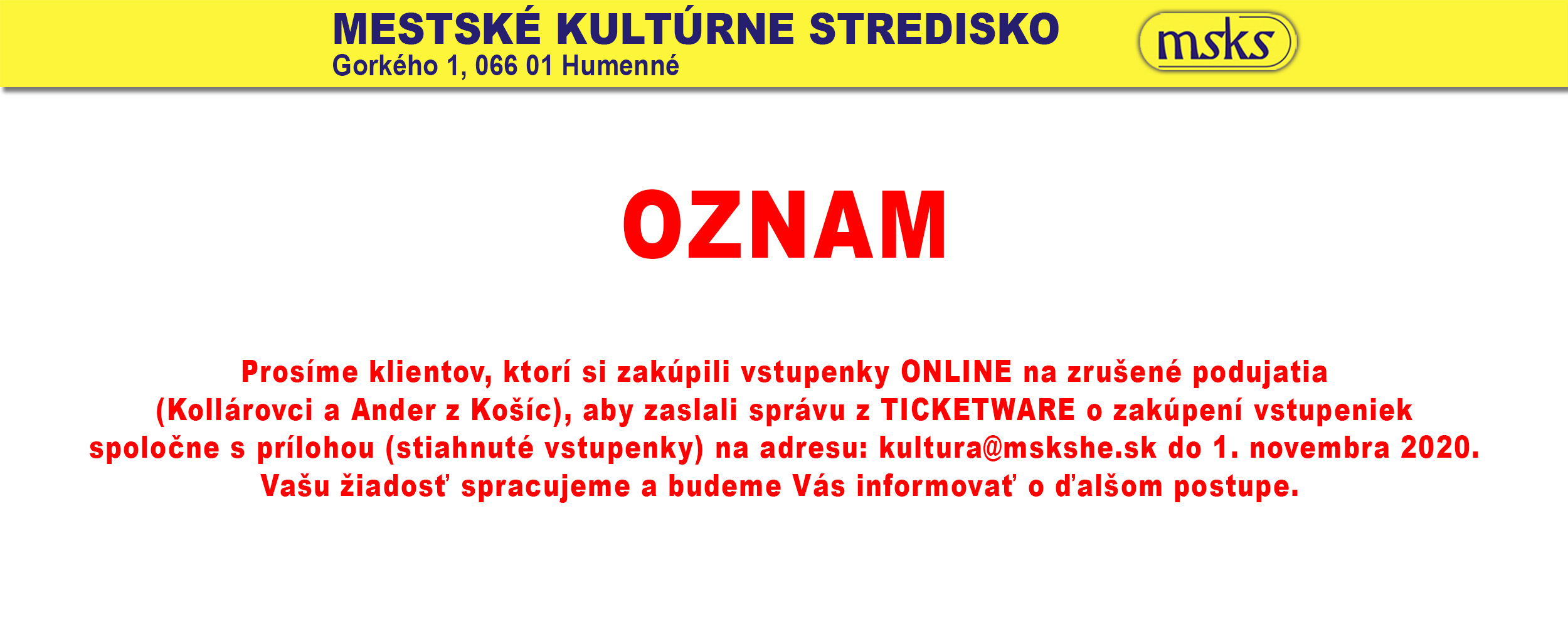 Oznam Ticketware
