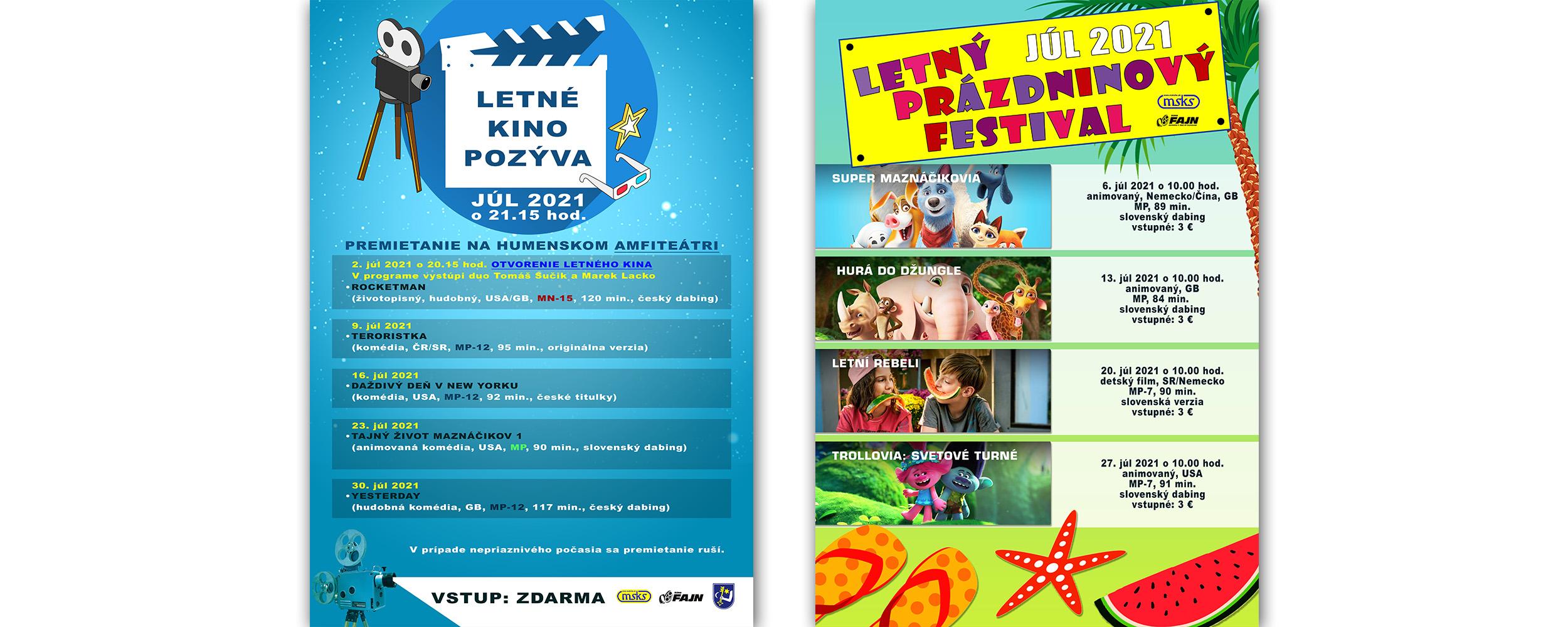 Letné Kino Prazdn Festival